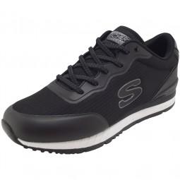 Skechers Sunlite Vega Damen Sneaker schwarz (black)