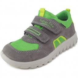Superfit Gore-Tex Sport7 Mini Kinder Sneaker grau/lime (stone multi)