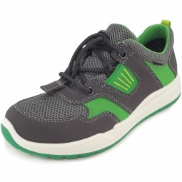 Superfit Gore-Tex Strider Kinder Trainingsschuhe grau/grün (stone kombi)
