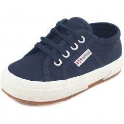 Superga 2750 Junior Cotu Classic Kinder Sneaker dunkelblau (navy/fwhite)