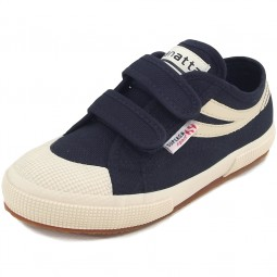 Superga 2750 Jvel Panatta Kinder Sneaker dunkelblau (navy/ecru)